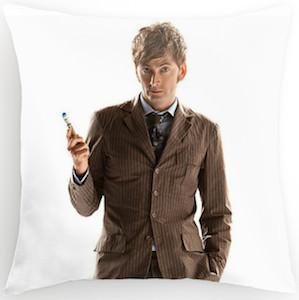 Doctor Who David Tennant pillow