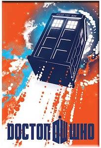 Dr. Who Tardis Taking Off Magnet
