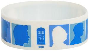 Doctor Who Anniversary Silhouette Bracelet