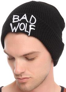 Bad Wolf Beanie Hat