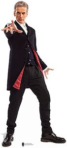 Dr. Who 12th Doctor Cardboard Standee Poster