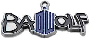 Doctor Who Bad Wolf Necklace Pendant