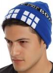 Doctor Who Tardis Watchman Beanie Hat