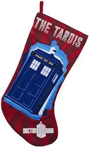 Doctor Who The Tardis Christmas Stocking