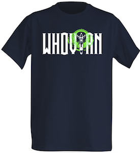 dr who Whovian Sonic Screwdriver T-Shirt