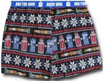 Doctor Who Christmas themed Boxers Shorts
