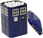 Doctor Who Tardis Tin With Logo Shaped Mints