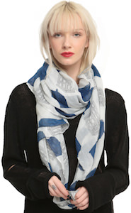 Doctor Who Tardis All Over Women's Scarf