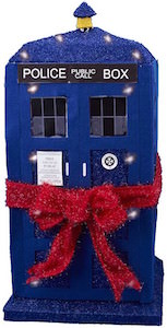 Dr. Who Tardis Light Up 28 Inch Christmas Display for indoor or outdoor