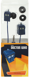 Doctor Who Tardis Shaped Earbuds