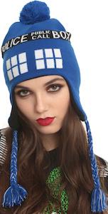 Doctor Who Tardis laplander hat