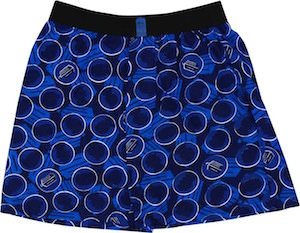 Doctor Who Boxers Shorts with 11 Doctors and the Logo On It