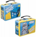 Doctor Who Tardis And Dalek Comic Style Lunch Box