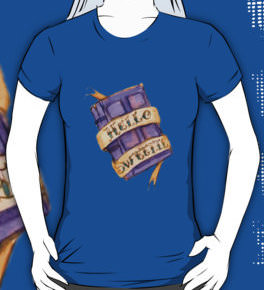 River Song Doctor Who River Song Hello Sweetie Journal T-Shirt for the true Dr. Who fan