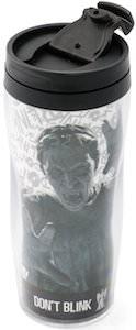 Doctor Who Weeping Angel Travel Mug