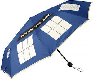 Doctor Who Tardis Folding Umbrella