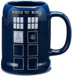Doctor Who Tardis Ceramic beer Stein