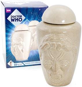 Dr. Who Weeping Angel Cookie Jar