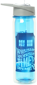 Doctor Who Wibbly Wobbly Timey Wimey Water Bottle