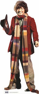 Tom Baker standee as Doctor Who