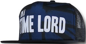 Doctor Who I Am A Time Lord Trucker Hat