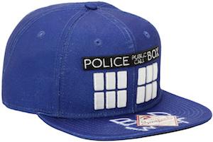 Doctor Who Tardis Bad Wolf Snapback Hat