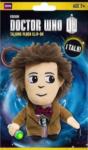 Doctor Who 11th Doctor Talking Plush Key Chain