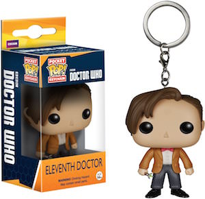 11th Doctor Who Pocket Pop! Key Chain
