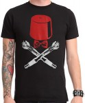 Doctor Who Bow Tie, Fez And Sonic Screwdriver Pirate T-Shirt