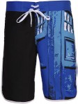 Doctor Who Tardis Half Way Men's Board Shorts