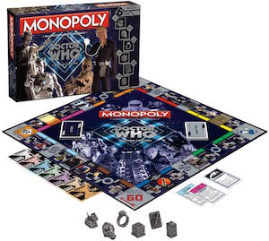 Doctor Who Villains Edition Monopoly
