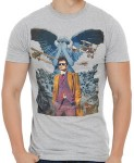 Doctor Who 10th Doctor Comic Cover T-Shirt
