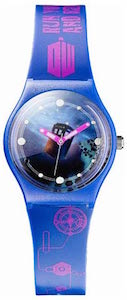 Doctor Who Blue And Purple Tardis Watch