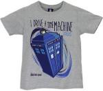 Doctor Who I Drive A Time Machine Tardis Kids T-Shirt