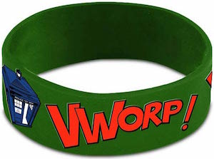 Doctor Who Green Tardis Wristband
