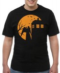 Doctor Who Weeping Angel Trick Or Treat T-Shirt