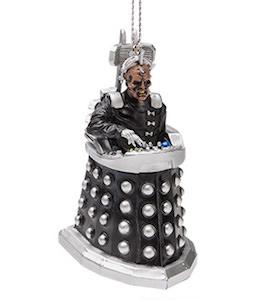 Davros Dalek Christmas Ornament