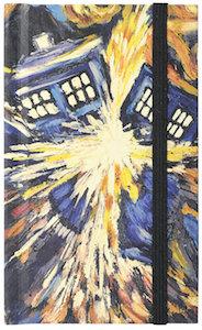 Exploding Tardis Mini Notebook