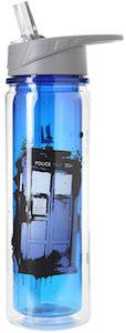 Doctor Who Tardis Bad Wolf Water Bottle