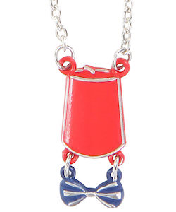 Fez and Bow Tie Necklace