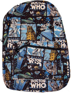Tardis And Villains Backpack