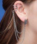 Tardis Cuff Earrings