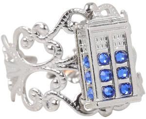 Tardis Filigree Style Ring