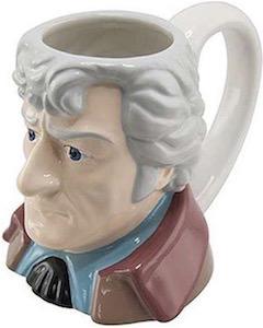 The 3rd Doctor Bust Mug