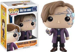 11th Doctor And Mr Clever Figurine