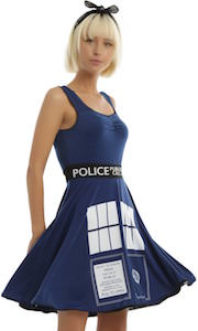 Tardis Women's Cosplay Dress