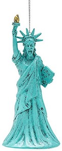 Weeping Angel Statue Of Liberty Ornament