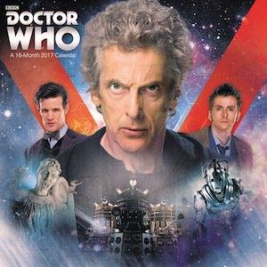 Doctor Who Wall Calendar 2017