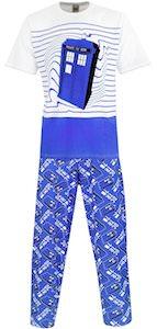 Men's Tardis Pajama's