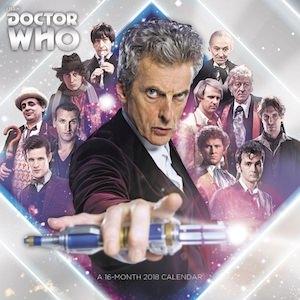 2018 Doctor Who Wall Calendar